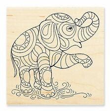 PenPATTERN ELEPHANT Rubber Stamp W146 Stampendous! Brand NEW! design circus