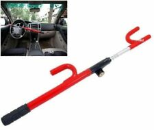 EXTENDABLE CAR WHEEL STEERING LOCK VAN CARAVAN ANTI THEFT SECURITY HEAVY DUTY