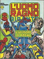 L'UOMO RAGNO GIGANTE n° 39 Ed. CORNO