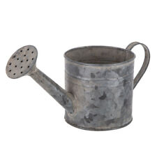 Galvanized Metal Watering Can Unique Vintage Look . Fantastic farmhouse style!