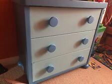childrens wardrobe & draw set