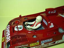 FIGURINE  1/18  PILOTE  DRIVER   ALFA  ROMEO  33 TT12  AUTOART  VROOM   FIGURE