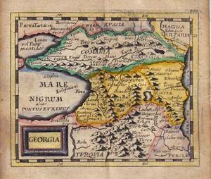 1681 Duval/Hoffman Map of Georgia