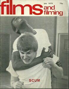 RARE - FILMS AND FILMING Magazine - July 1979 - James Caan - Klaus Kinski - HAIR