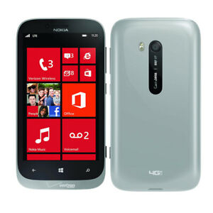 GSM Unlocked - Nokia Lumia 822 RM-845 Gray Windows 8 Smartphone