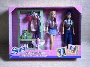Sindy doll bianco Scarpe Vintage Muli 70s//80s in buonissima condizione.