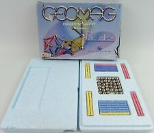 Geomag Magnetic Pastelles: 96 Piece Set Boxed 60 Rods 35 Spheres Magnets Sticks