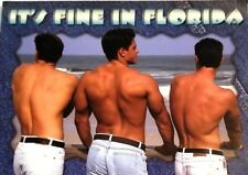 Awesome Risque Used Florida Postcard Hurricane Ivan