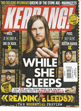 KERRANG MAGAZINE #1685 AUGUST 2017, WHILE SHE SLEEPS