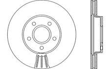 2x OPEN PARTS Discos freno delanteros Ventilado 278mm Para VOLVO V50 BDA2152.20