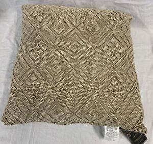 """Lacourte Beige 22"""" X 22"""" Decorative Pillow"""