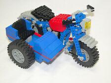 Lego Technic 857 Motorrad mit Beiwagen komplett