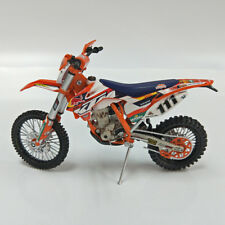 KTM 350 EXC-F No 111  Dakar Rally Motocross Motorcycle Model 1:12 Scale