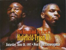 Mike Tyson Evander Holyfield   Post Fight June 28 1997  Post Fight Extravaganza