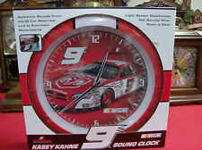 Nascar No# 9. Actual Live Sounds Of No# 9  on The Hour.  Wall Clock New