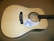 Ryan Cabrera Sexy Signed Autographed Acoustic Guitar W/ Art PSA Guaranteed