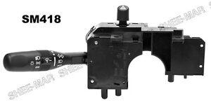 SM418 Dimmer Headlight Wiper Multifunction Turn Signal Switch 01-06 w/o fog lmps