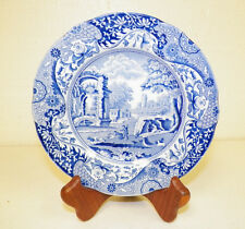 "SPODE ITALIAN BLUE & WHITE CHINA BREAD PLATE 6 1/4"" ACROSS"