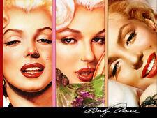 Marilyn Monroe Home Decor Canvas Print A4 size (210 x 297mm)