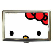 Hello Kitty Cigarette Metal Case 100's or Use Keep Money Card Wallet HOT GIFT