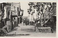 California Ca RPPC Postcard 1950s LOS ANGELES Olivera Street THEATRE