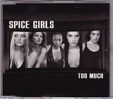Spice Girls - Too Much - CD (VSCOT1669 1987 Virgin 3 x Track Australia)