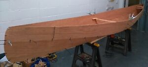 """New Bay 15' (5.49m) """"Canadian"""" Style Open Canoe DIY Plans/Full Size Patterns"""