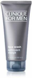 RRP £17.50 SEALED CLINIQUE for Men Face Wash 200ml Full Size normal to dry skin