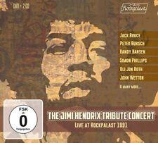 The Jimi Hendrix - Tribute Concert CD DVD Box Set Edition New 2019