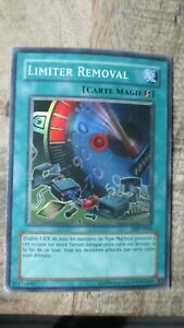 Carte Yu-Gi-OH-LIMITER REMOVAL-1ere édit.Française-SDP-F064
