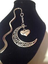 brother.. filligree book mark silver plated