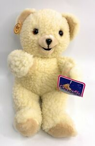 """Snuggle Bear Plush Russ Berrie 15"""" Tall Lever Brothers Russ 1986 VTG with tags"""