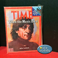 TIME MAGAZINE-DEC 22 1980-DEATH OF JOHN LENNON-WHEN THE MUSIC DIED-NO LABEL-VF*