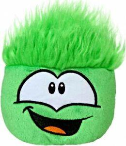 Club Penguin Green Puffle Plush [No Code RANDOM Facial Expression]