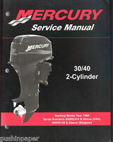 MERCURY  30 / 40 (2 CYL)  OUTBOARD SERVICE MANUAL / STARTING MODEL YEAR 1994