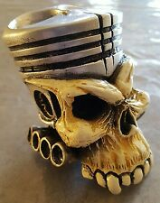 PISTON SKULL FATBOY PIPES FORD PERFORMANCE AUTOPACE HEADERS ORNAMENT GEAR KNOB
