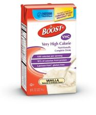 Boost VHC - 4 Case Special - Vanilla, Very High Calorie 8 oz. Case of 27