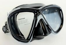 NEW $60 Dacor DL Scuba Mask imported by Mares Diving Black Snorkeling