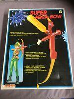 Aqua Fun Super Aqua-Bow - Uranium 1992 Vintage Neu Ovp unbespielt Wasserpistole