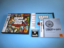 Grand Theft Auto Chinatown Wars (Nintendo DS) w/Case, Manual & Map