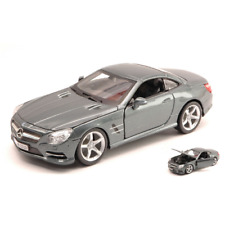 Mercedes SL 500 (r231) 2012 SILVERGUN 1 24 Burago Auto Stradali Die cast