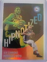 2020-21 Panini NBA Hoops Ben Simmons Hipnotized Holo Sixers Card #13