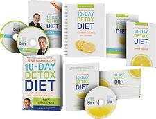 NEW Dr. Mark Hyman 10-Day Detox Diet Complete Toolkit Bundle Set Kit Book DVDs +