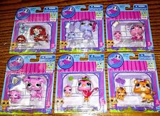 Littlest Pet Shop Mommy and baby Poodle Pig Tiger Elephant Dachshund Bird LPS