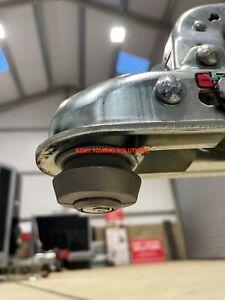 NEW UNIVERSAL TRAILER & CARAVAN SECURITY ANTI-THEFT COUPLING HITCH LOCK 50mm✅