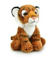 LIL FRIENDS TIGER PLUSH SOFT TOY 12CM STUFFED ANIMAL BY KORIMCO
