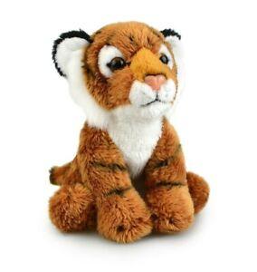 LIL FRIENDS TIGER PLUSH SOFT TOY 12CM STUFFED ANIMAL BY KORIMCO