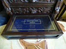 VERY NICE BOX COLLECTIBLE COINS OF AMERICA DISPLAY BOX