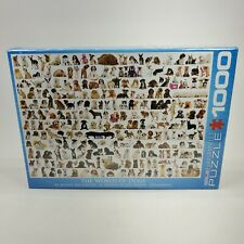 The World of Dogs Jigsaw Puzzle 1000 Piece Eurographics NEW Sealed