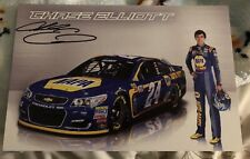 HTF Chase Elliott Signed Napa 6x9 Cup Debut Preview Postcard RARE
